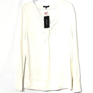 Primary Photo - BRAND: LAFAYETTE 148 STYLE: TOP LONG SLEEVE COLOR: WHITE SIZE: XL SKU: 262-262101-2362DESIGNER FINAL 62% LINEN38% COTTON