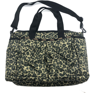 "Primary Photo - BRAND: LE SPORT SAC STYLE: HANDBAG COLOR: ANIMAL PRINT SIZE: MEDIUM SKU: 262-26275-74098AS IS SLIGHT SPOTS APPROX 18""X12""X6"""