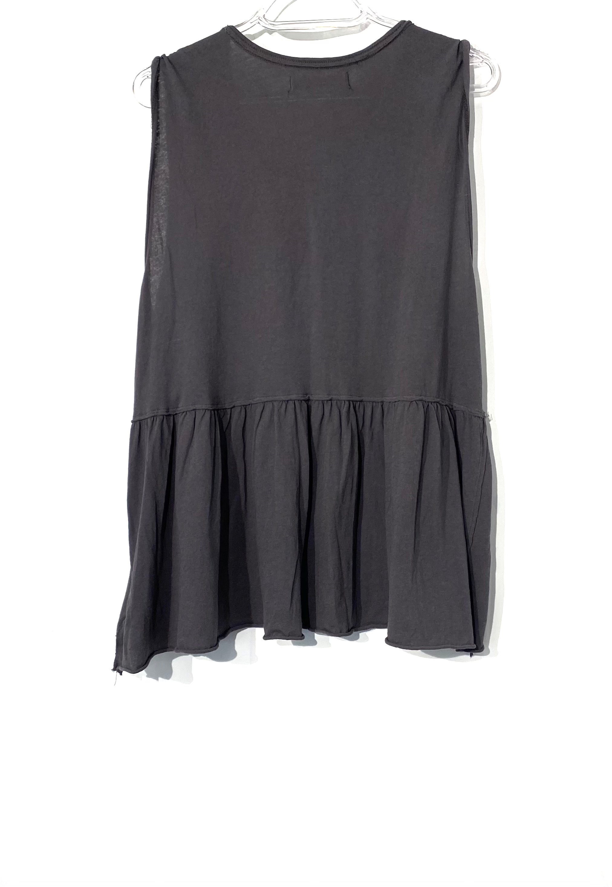 Photo #1 - BRAND: WE THE FREE <BR>STYLE: TOP SLEEVELESS <BR>COLOR: GREY <BR>SIZE: L <BR>SKU: 262-26275-68184