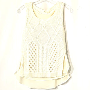 Primary Photo - BRAND: MOTH ANTHROPOLOGIE STYLE: TOP SLEEVELESS COLOR: CREAM SIZE: XS SKU: 262-26275-74692