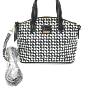 Primary Photo - BRAND: DOONEY AND BOURKE STYLE: HANDBAG DESIGNER COLOR: HOUNDSTOOTH SIZE: SMALL SKU: 262-26275-68743NEW CONDITION