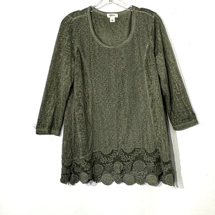 Primary Photo - BRAND: STYLE AND COMPANY STYLE: TOP LONG SLEEVE COLOR: OLIVE SIZE: L SKU: 262-26275-73987