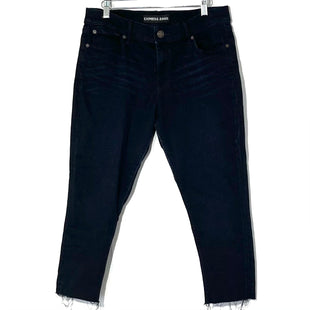 Primary Photo - BRAND: EXPRESS STYLE: JEANS COLOR: DARK DENIM SIZE: 12 SHORTSKU: 262-26211-142012SUPER SOFT LEGGING MID RISE