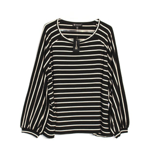 Primary Photo - BRAND: INC STYLE: TOP LONG SLEEVE COLOR: STRIPED SIZE: 3X SKU: 262-262101-799