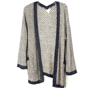 Primary Photo - BRAND: CASLON STYLE: SWEATER CARDIGAN LIGHTWEIGHT COLOR: BLUE WHITE SIZE: M SKU: 262-262101-3120
