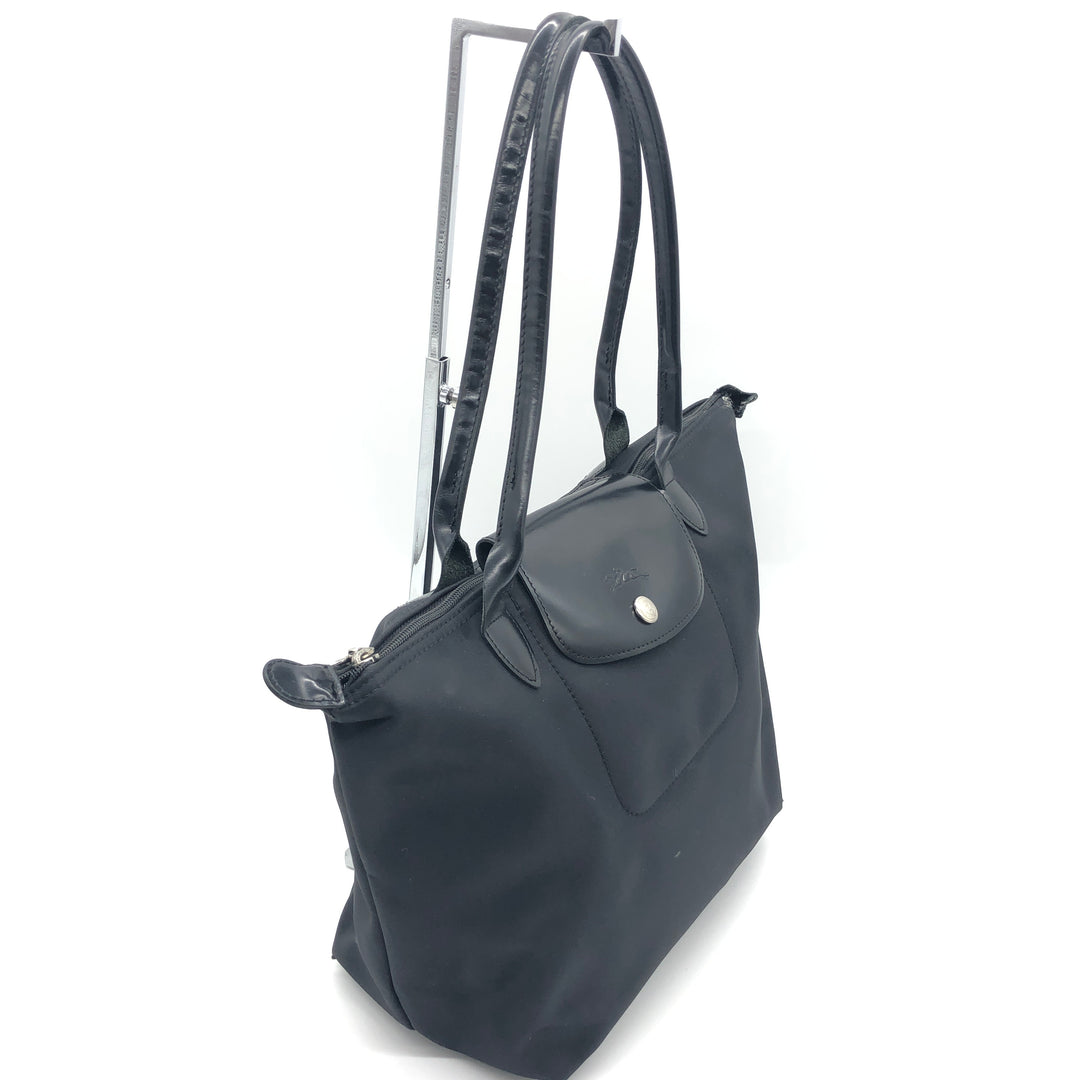 Photo #1 - BRAND: LONGCHAMP <BR>STYLE: MODELE DEPOSE<BR>COLOR: BLACK <BR>SIZE: SMALL <BR>SKU: 262-26275-74621<BR>WEAR SHOWS • BROKEN ZIPPER • AS IS