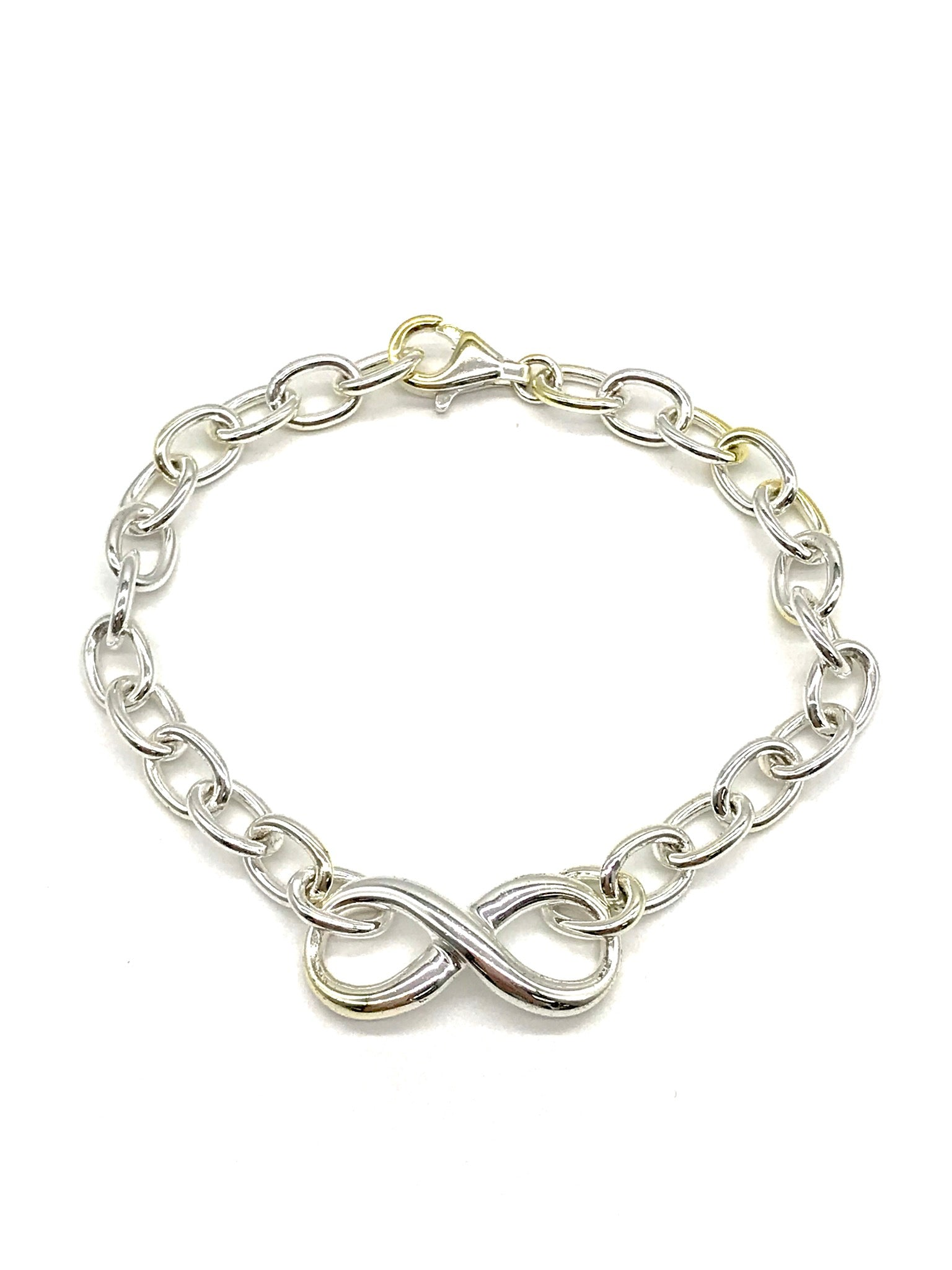 Primary Photo - BRAND: GUESS <BR>STYLE: BRACELET <BR>COLOR: STERLING SILVER <BR>SKU: 262-26275-64732<BR>AS IS