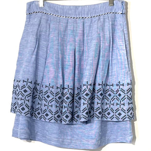 Primary Photo - BRAND: ODILLE ANTHROPOLOGIE STYLE: SKIRT COLOR: LIGHT BLUE SIZE: L /12SKU: 262-26241-46188