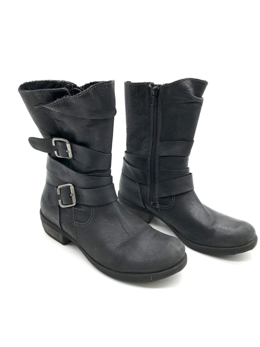 Photo #3 - BRAND: BOC <BR>STYLE: BOOTS ANKLE <BR>COLOR: BLACK <BR>SIZE: 7 <BR>SKU: 262-26275-69243<BR>AS IS
