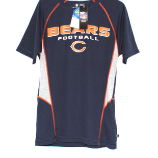 Primary Photo - BRAND: NFL STYLE: ATHLETIC TOP SHORT SLEEVE COLOR: NAVY SIZE: S SKU: 262-26275-59705