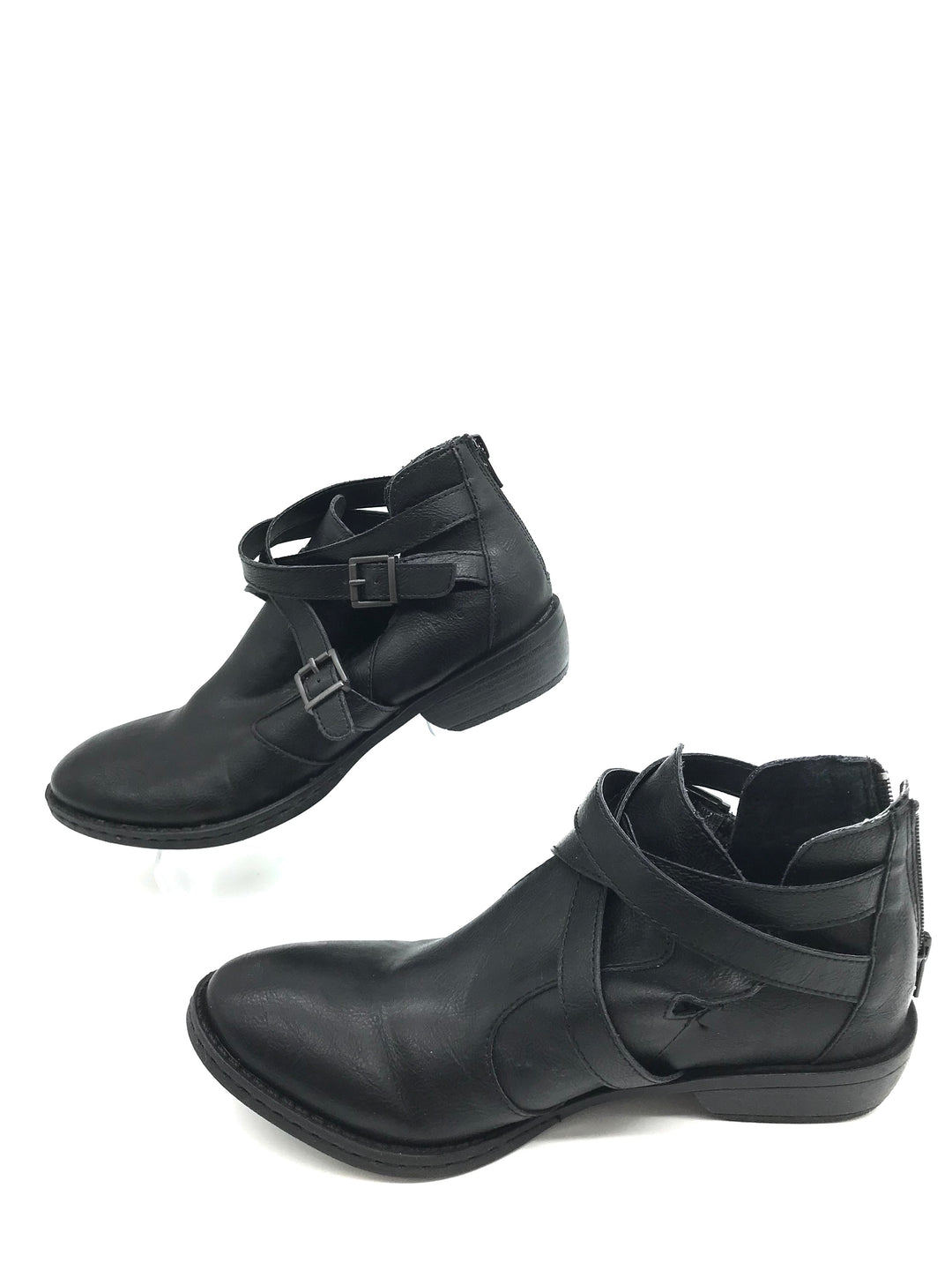 Photo #2 - BRAND: BOC <BR>STYLE: BOOTS ANKLE <BR>COLOR: BLACK <BR>SIZE: 7.5 <BR>SKU: 262-26275-70285