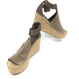 Primary Photo - BRAND: MARC FISHER STYLE: SANDALS LOW COLOR: STRAW SIZE: 8 SKU: 262-26275-75943