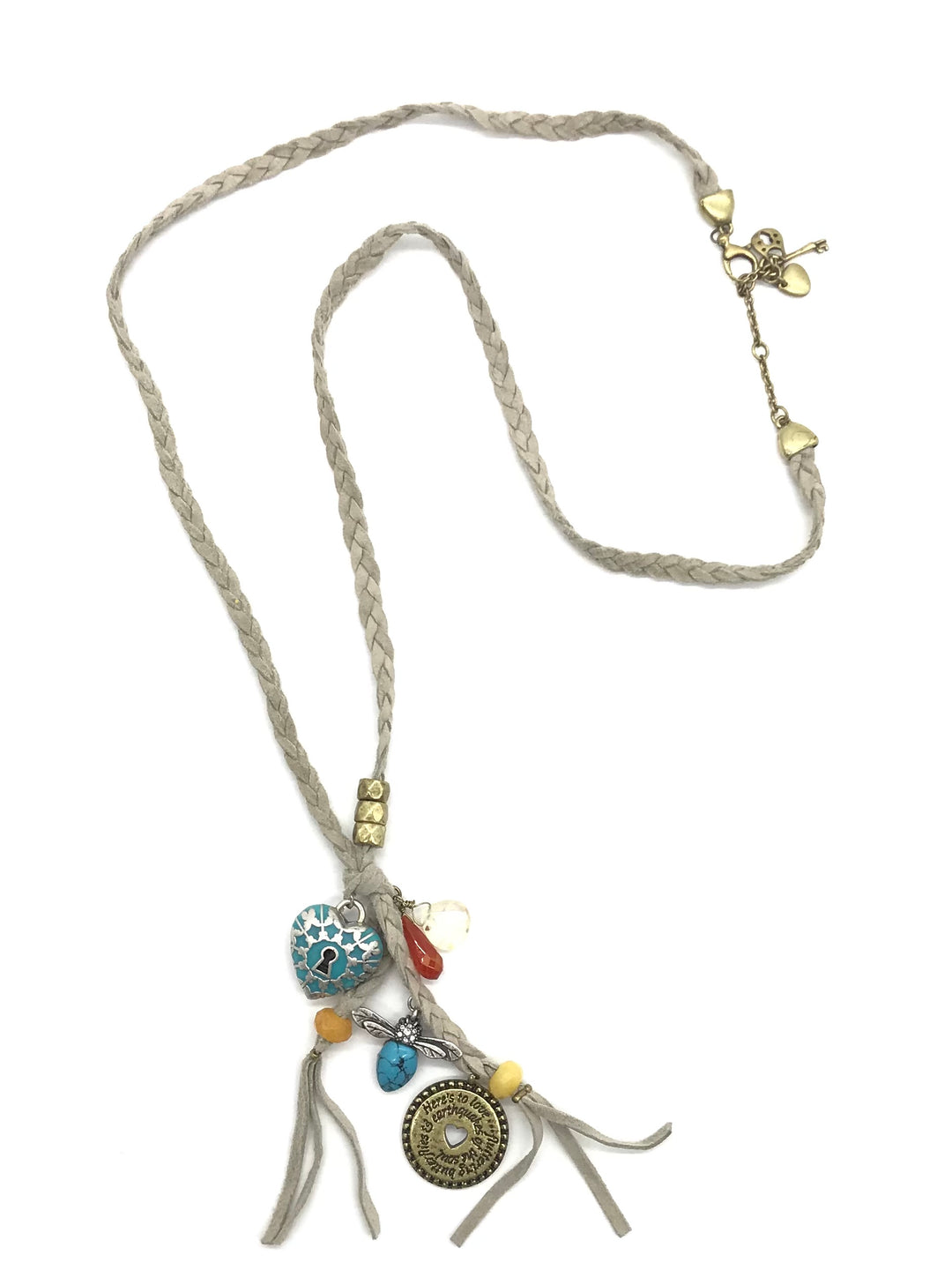 Primary Photo - BRAND:  FOSSIL<BR>STYLE: NECKLACE <BR>COLOR: MULTI <BR>SKU: 262-26275-73018<BR>AS IS