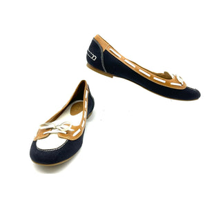 Primary Photo - BRAND: COLE-HAAN STYLE: SHOES FLATS COLOR: BLACK WHITE SIZE: 8 SKU: 262-26275-69111IN GREAT SHAPE AND CONDITION
