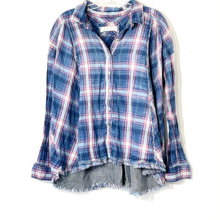 Primary Photo - BRAND: WE THE FREE STYLE: TOP LONG SLEEVE COLOR: PLAID SIZE: M SKU: 262-26275-74595