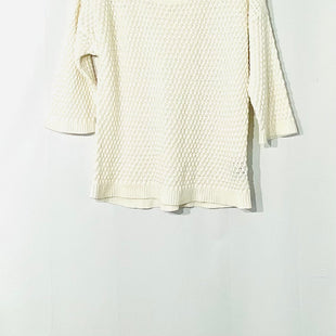 Primary Photo - BRAND: ATHLETA STYLE: TOP 3/4 LONG SLEEVE COLOR: WHITE SIZE: L SKU: 262-26211-13643445% COTTON35% LINEN