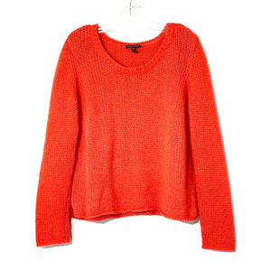 Primary Photo - BRAND: EILEEN FISHER STYLE: SWEATER LIGHTWEIGHT COLOR: RED ORANGE SIZE: XL SKU: 262-26275-73896GENTLEST FUZZINESS AS IS