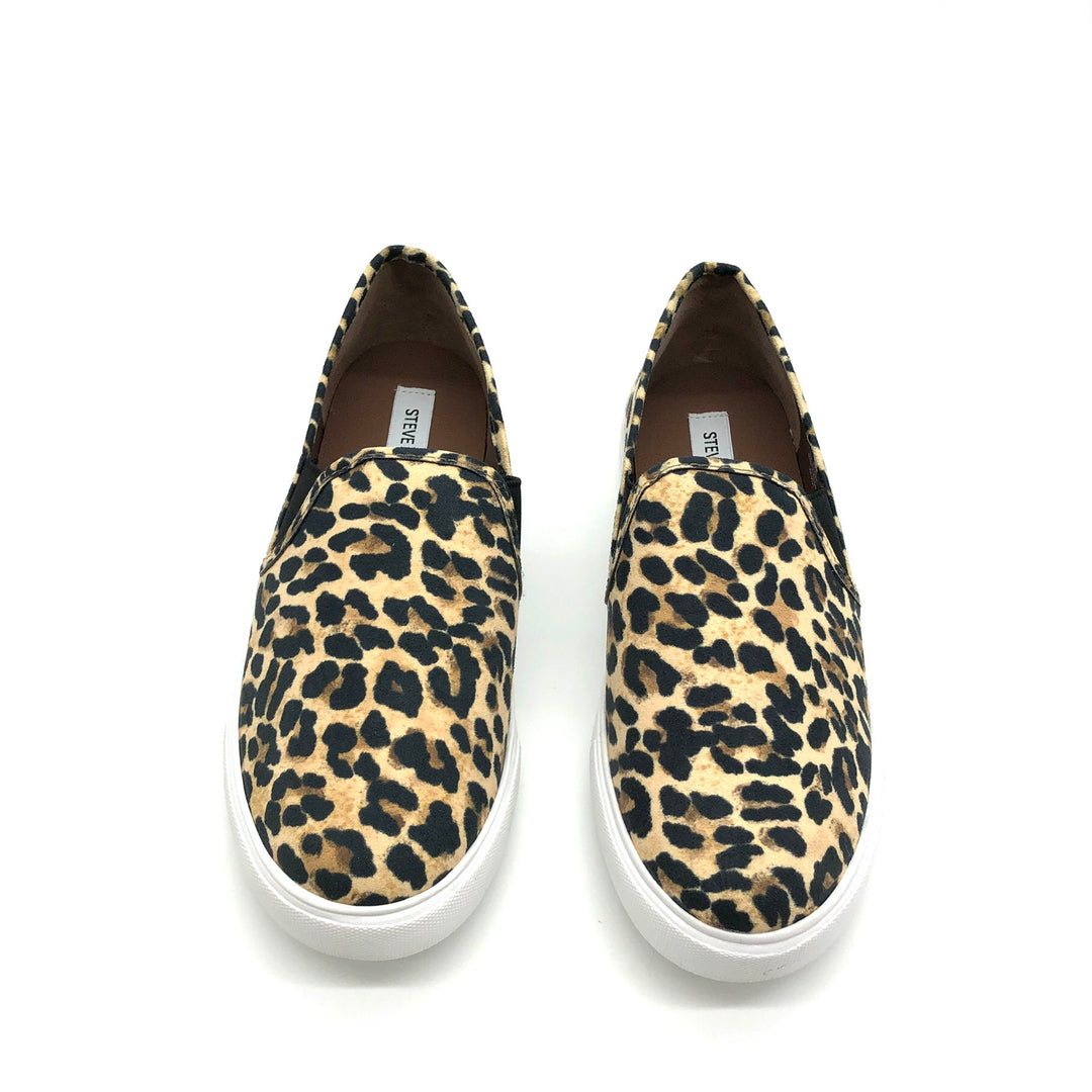 Photo #1 - BRAND: STEVE MADDEN <BR>STYLE: SHOES FLATS <BR>COLOR: ANIMAL PRINT <BR>SIZE: 9.5 <BR>SKU: 262-26275-75062<BR><BR>AS IS FINAL SALE <BR>LIKE NEW <BR>