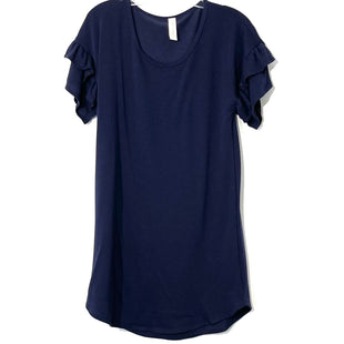 Primary Photo - BRAND: ALLISON JOY STYLE: DRESS SHORT SHORT SLEEVE COLOR: NAVY SIZE: M SKU: 262-26275-74059SIZE TAG MISSING AS IS