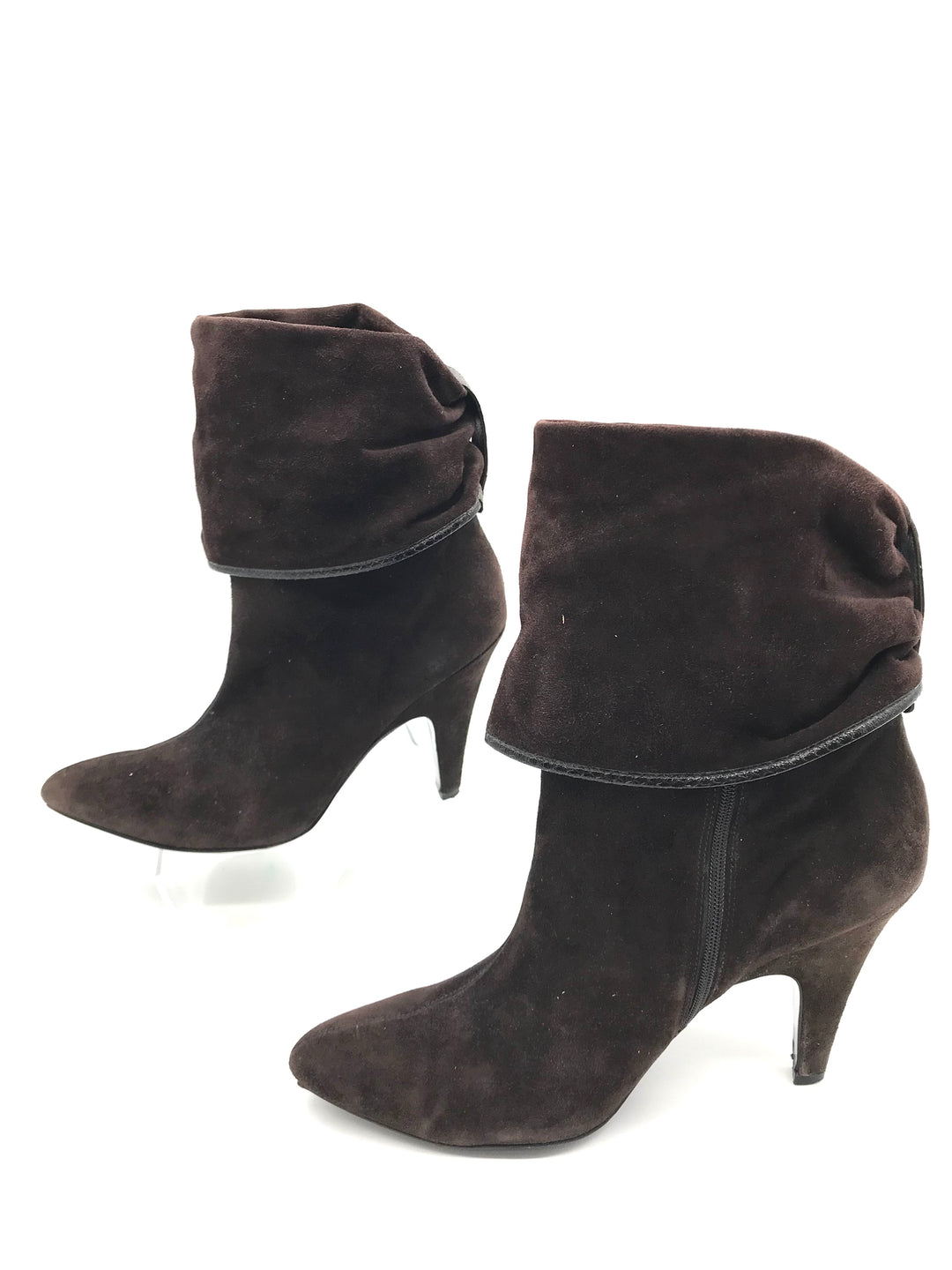 Photo #2 - BRAND: VIA SPIGA <BR>STYLE: BOOTS ANKLE <BR>COLOR: BROWN <BR>SIZE: 8.5 <BR>SKU: 262-26275-71064<BR><BR>COUPLE SLIGHT MARKS