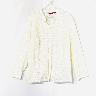 Primary Photo - BRAND: GILLI STYLE: TOP LONG SLEEVE BLOUSE COLOR: CREAM SIZE: 2X SKU: 262-26275-74194