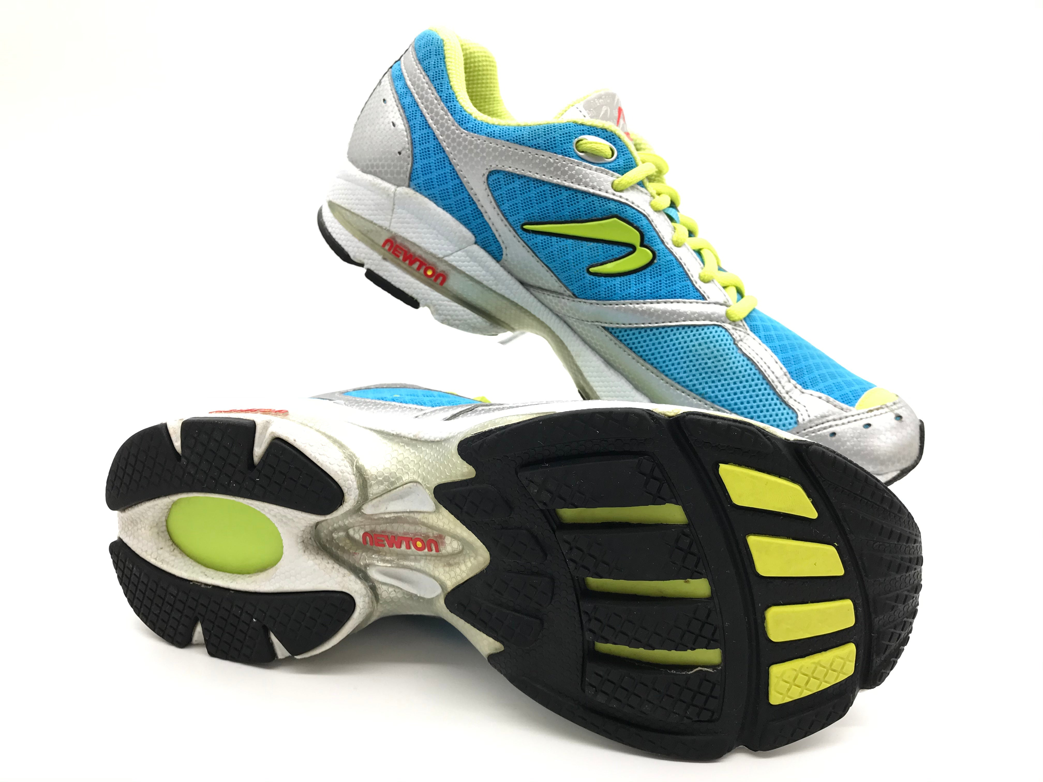 Photo #3 - BRAND:  NEWTON<BR>STYLE: SHOES ATHLETIC <BR>COLOR: BLUE YELLOW <BR>SIZE: 9 <BR>SKU: 262-26275-71113<BR>GENTLE WEAR - AS IS