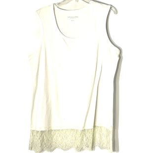 Primary Photo - BRAND: SOFT SURROUNDINGS STYLE: TOP SLEEVELESS BASIC COLOR: WHITE SIZE: 1X SKU: 262-26241-47545
