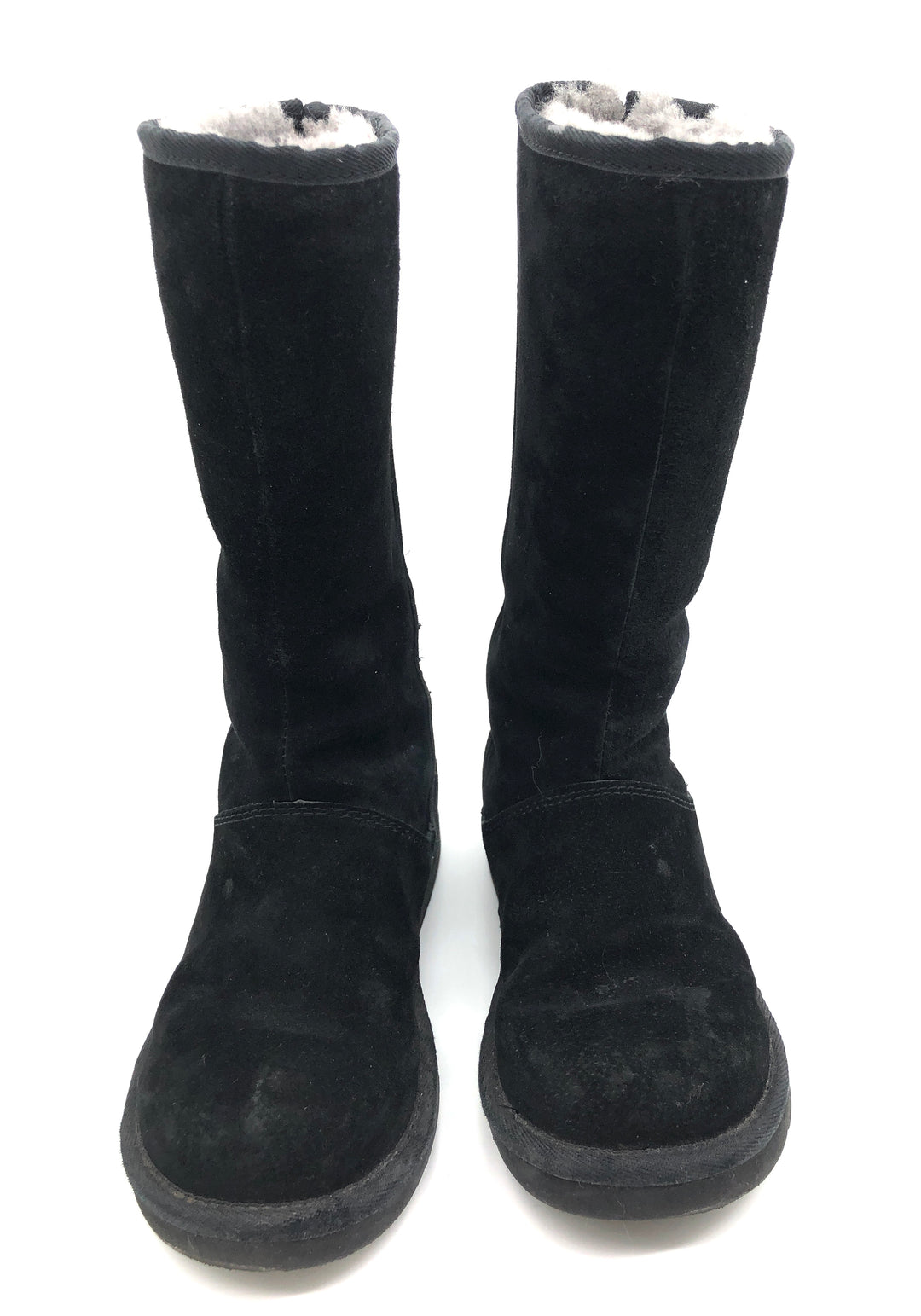 Photo #3 - BRAND: UGG <BR>STYLE: BOOTS KNEE <BR>COLOR: BLACK <BR>SIZE: 6 <BR>SKU: 262-26275-75288<BR><BR>PRICE REFLECTS SOME SLIGHT WEAR (EX. SCUFFING, WATER SPOTS)