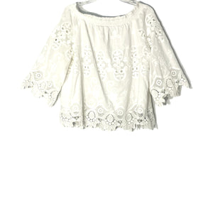 Primary Photo - BRAND: CHICOS STYLE: BLOUSE COLOR: WHITE SIZE: XL /3SKU: 262-26211-145280COLD SHOULDER STYLE