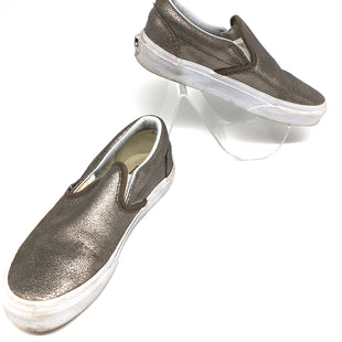 Primary Photo - BRAND: VANS STYLE: SHOES FLATS COLOR: METALLIC SIZE: 5 OTHER INFO: WEAR AS IS SKU: 262-26211-141987SOME WEAR ESPECIALLY TO SOLE REFLECTED IN PRICE
