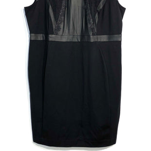 Primary Photo - BRAND: LANE BRYANT STYLE: DRESS SHORT SLEEVELESS COLOR: BLACK SIZE: 2X/24SKU: 262-262101-1722FAUX LEATHER DETAIL TRIM
