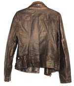 Photo #1 - BRAND: KUT <BR>STYLE: JACKET OUTDOOR <BR>COLOR: BROWN <BR>SIZE: S <BR>SKU: 262-26275-63049<BR>LEATHER LOOK