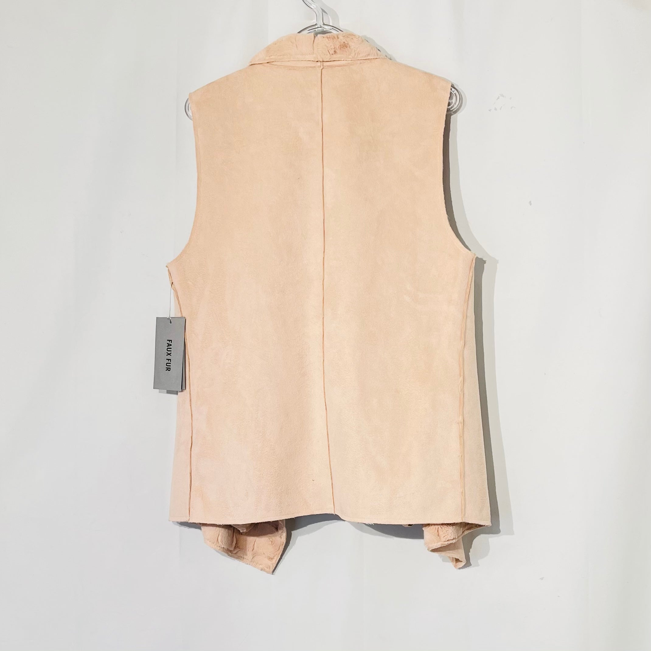 Photo #1 - BRAND: ANDREW MARC <BR>STYLE: VEST <BR>COLOR: LIGHT PINK <BR>SIZE: L <BR>SKU: 262-26275-73961
