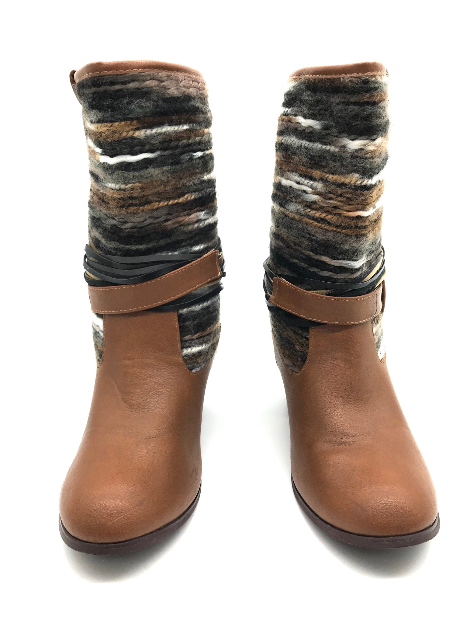 Photo #3 - BRAND: FRANCESCA'S <BR>STYLE: BOOTS ANKLE <BR>COLOR: BROWN <BR>SIZE: 8 <BR>SKU: 262-26275-67422