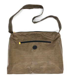 "Primary Photo - BRAND: FENDI STYLE: VINTAGE HANDBAG DESIGNER COLOR: BROWN SIZE: MEDIUM 12""H X 14.5""L X 5""WDROP: 16""SKU: 262-26275-74934PRICE REFLECTS CONDITION AS SHOWN ON PHOTOS • FOR MORE DETAILS AND INFORMATION - PLEASE CALL OUR STORE AT 847 901 3270 •"