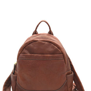 Primary Photo - BRAND: FRYE STYLE: BACKPACK COLOR: LEATHER SIZE: SMALL SKU: 262-26275-73565SMALL STAIN SPOT ON THE INSIDE POCKETS • OVERALL IN GREAT SHAPE AND CONDITION •