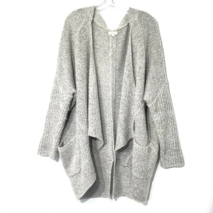 Primary Photo - BRAND: DEBUT STYLE: SWEATER CARDIGAN LIGHTWEIGHT COLOR: GREY SIZE: M SKU: 262-26275-7422755% COTTON