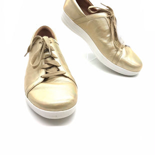 Primary Photo - BRAND: FITFLOP STYLE: SHOES ATHLETIC COLOR: GOLD SIZE: 11 SKU: 262-26275-72573AS IS SCUFFING AND MARKS FINAL SALE