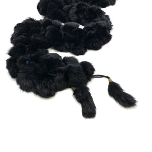 "Primary Photo - BRAND:    CLOTHES MENTOR STYLE: SCARF COLOR: BLACK OTHER INFO: FUR SKU: 262-26241-42609FEELS LIKE REAL FUR NO GUARANTEE 56"" LONG"
