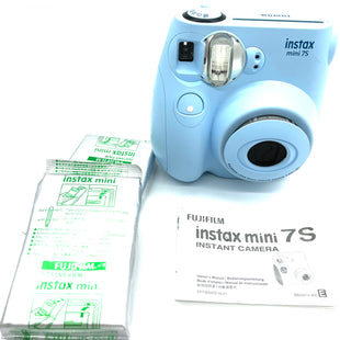 Primary Photo - BRAND:    INSTAX MINI 7SSTYLE:  POLAROID CAMERA COLOR: LIGHT BLUE SIZE:OTHER INFO: INSTAX - SKU: 262-262100-380POLAROID CAMERA