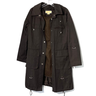 Primary Photo - BRAND: MICHAEL KORS STYLE: COAT SHORT COLOR: DARK BROWNSIZE: M SKU: 262-262101-2087DETACHABLE LINER