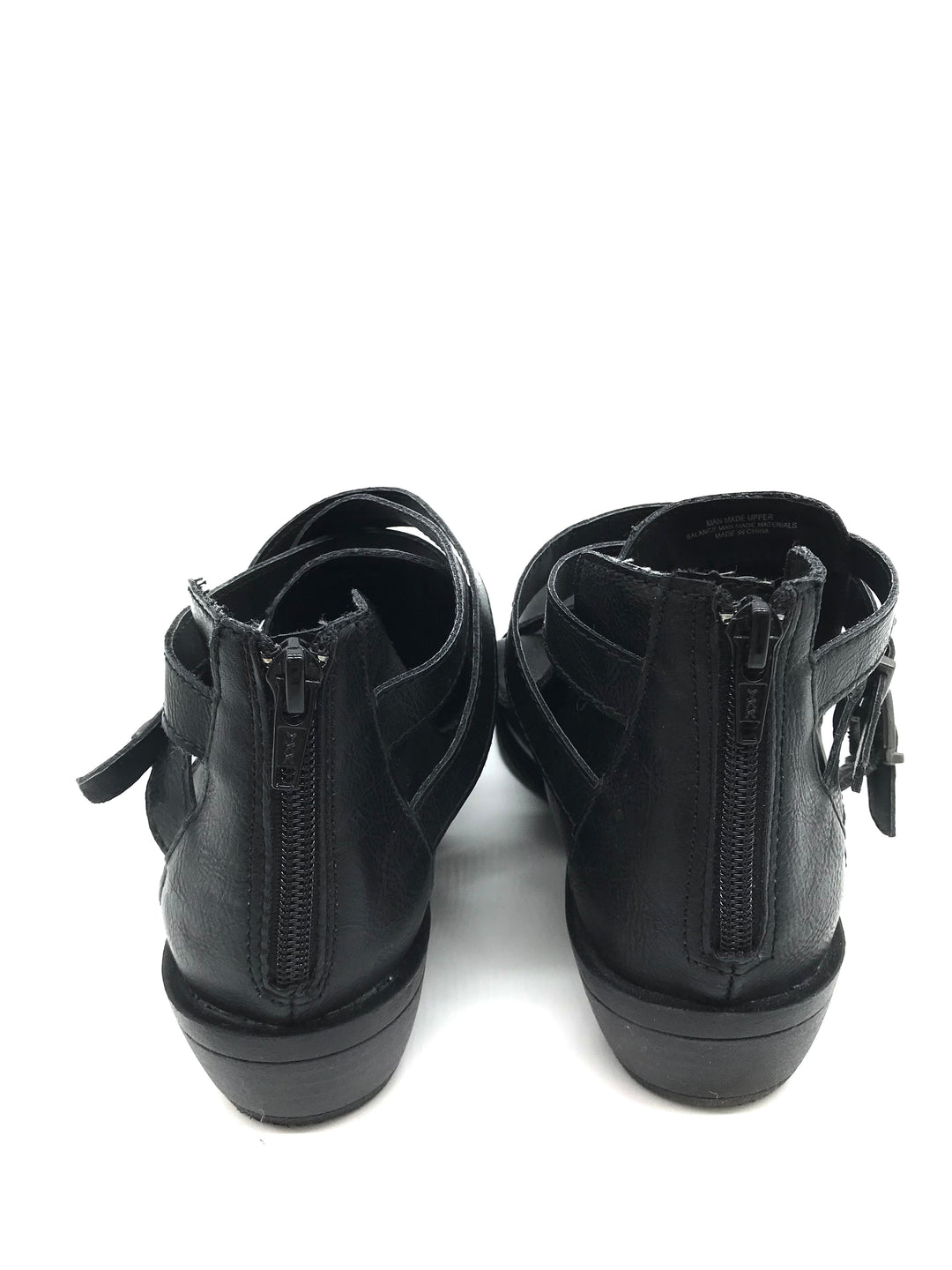 Photo #4 - BRAND: BOC <BR>STYLE: BOOTS ANKLE <BR>COLOR: BLACK <BR>SIZE: 7.5 <BR>SKU: 262-26275-70285