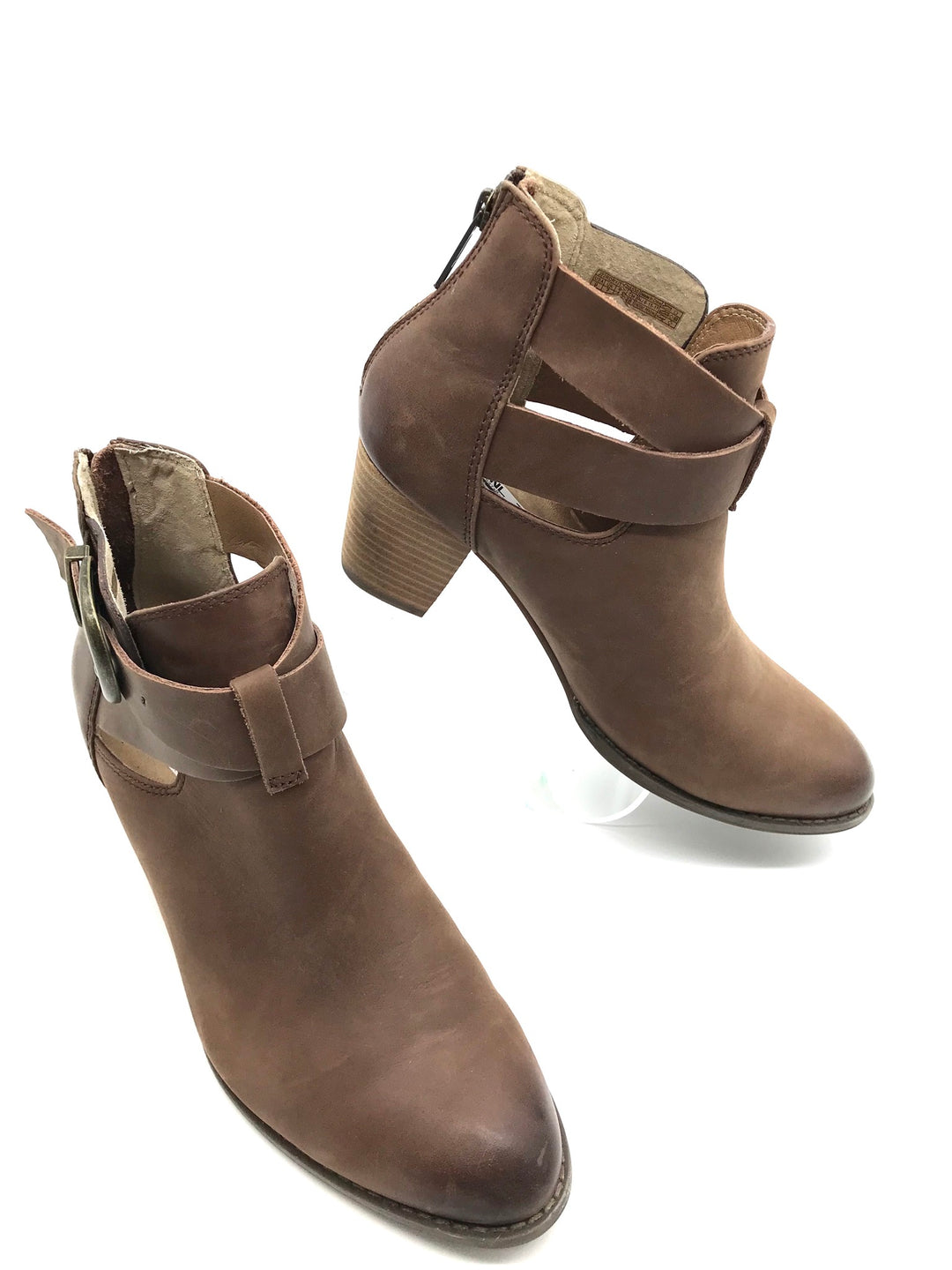Primary Photo - BRAND: VINCE <BR>STYLE: BOOTS ANKLE <BR>COLOR: TAN <BR>SIZE: 9 <BR>SKU: 262-262101-537<BR>AS IS