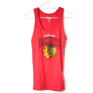 Primary Photo - BRAND:    CLOTHES MENTOR STYLE: ATHLETIC TANK TOP COLOR: RED SIZE: M OTHER INFO: 4HER - SKU: 262-26275-74153