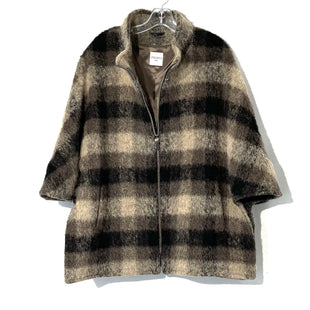 Primary Photo - BRAND:  CINZIA ROCCASTYLE: COAT SHORT SHAWLCOLOR: PLAID SIZE: XXL/16SKU: 262-26275-7458074% WOOLDESIGNER FINAL