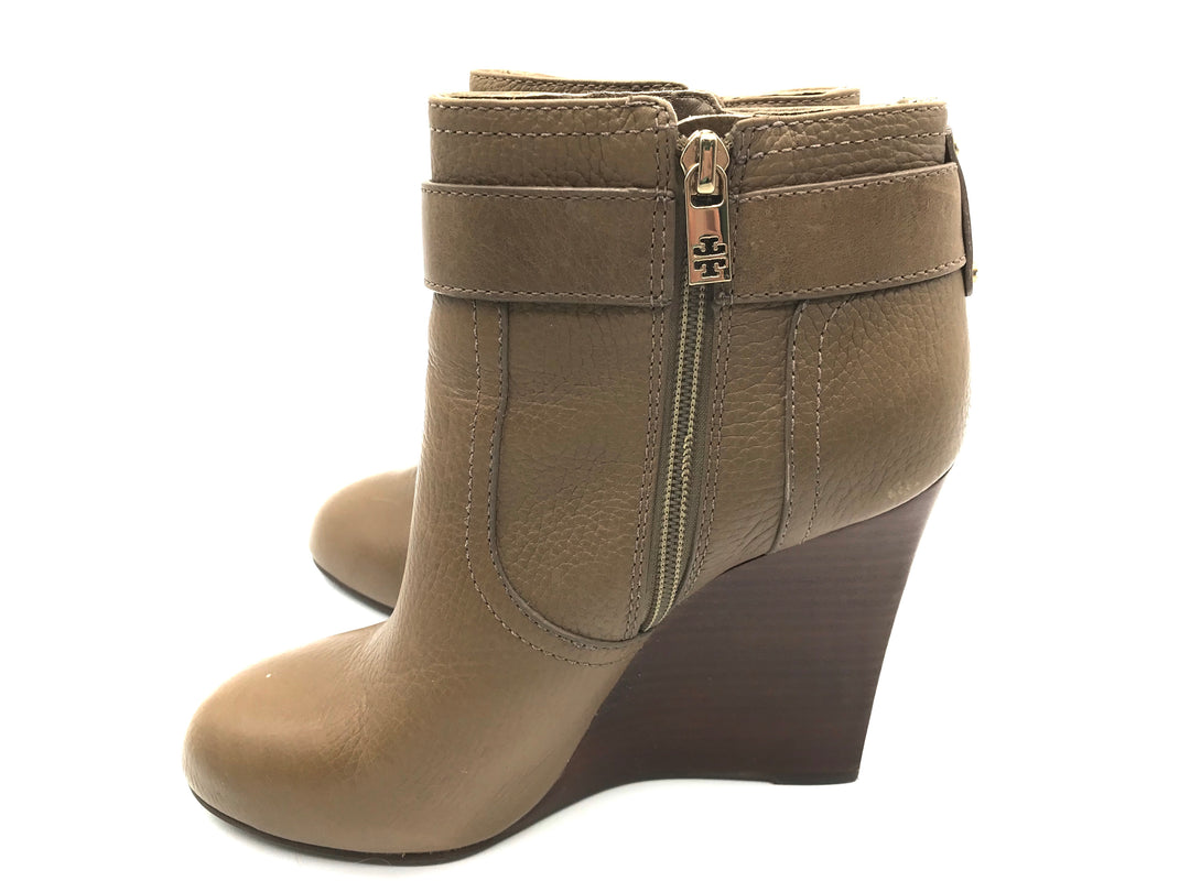 Photo #4 - BRAND: TORY BURCH <BR>STYLE: BOOTS ANKLE <BR>COLOR: BROWN <BR>SIZE: 9 <BR>SKU: 262-262101-1427<BR><BR>ELINA BOOTIE