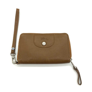 Primary Photo - BRAND: LONGCHAMP STYLE: WALLET COLOR: TAN SIZE: MEDIUM SKU: 262-26275-76824DESIGNER BRAND FINAL SALE AS IS WEAR (SEE PHOTOS)