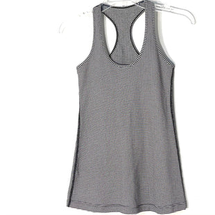 Primary Photo - BRAND: LULULEMON STYLE: ATHLETIC TANK TOP COLOR: CHECKED SIZE: SOTHER INFO: SIZE TAG MISSING AS IS (6?)SKU: 262-26211-144378