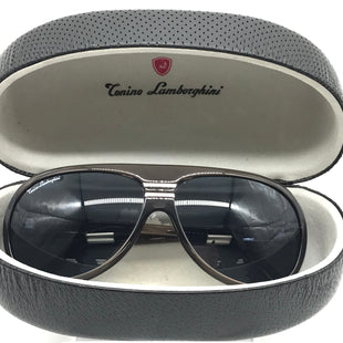 Primary Photo - BRAND:  TONINO LAMBORGHINI STYLE: SUNGLASSES COLOR: BROWN SKU: 262-26275-72257GENTLE SCRATCHES ON THE TEMPLE AREA • OVERALL IN GREAT SHAPE AND CONDITION •