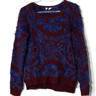 Primary Photo - BRAND: MOTH ANTHROPOLOGIE STYLE: SWEATER LIGHTWEIGHT COLOR: BLUE MAROONSIZE: XS SKU: 262-26275-7504035% WOOL